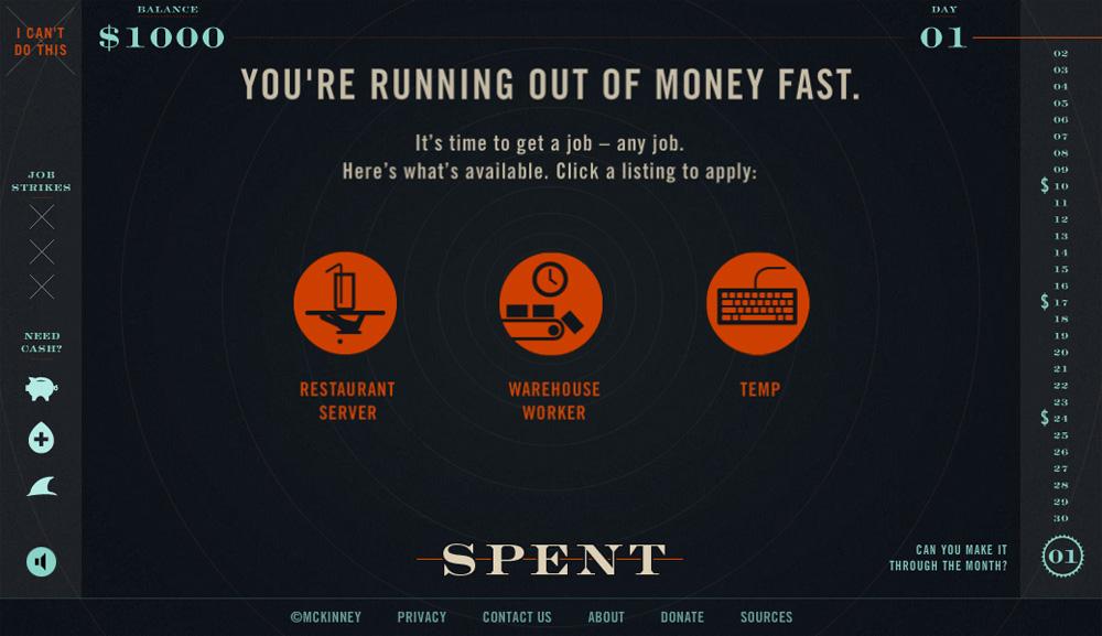 spent precision market services marketing web development